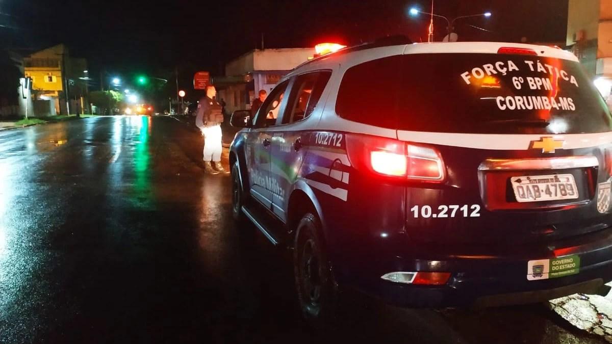 """You are currently viewing """"Sou parente de delegado"""" diz homem que descumpria toque de recolher em Corumbá"""
