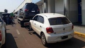 Read more about the article Fiscalização apreende veículos que transportavam bolivianos ilegalmente de Corumbá para capital