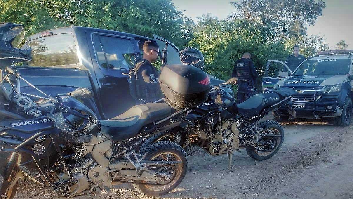 Read more about the article Após roubar caminhonete, bandidos trocam tiros com a Polícia na zona rural de Corumbá