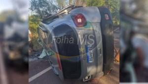 Read more about the article Jeep que se envolveu em acidente com 3 mortes teria invadido contramão sentido Corumbá