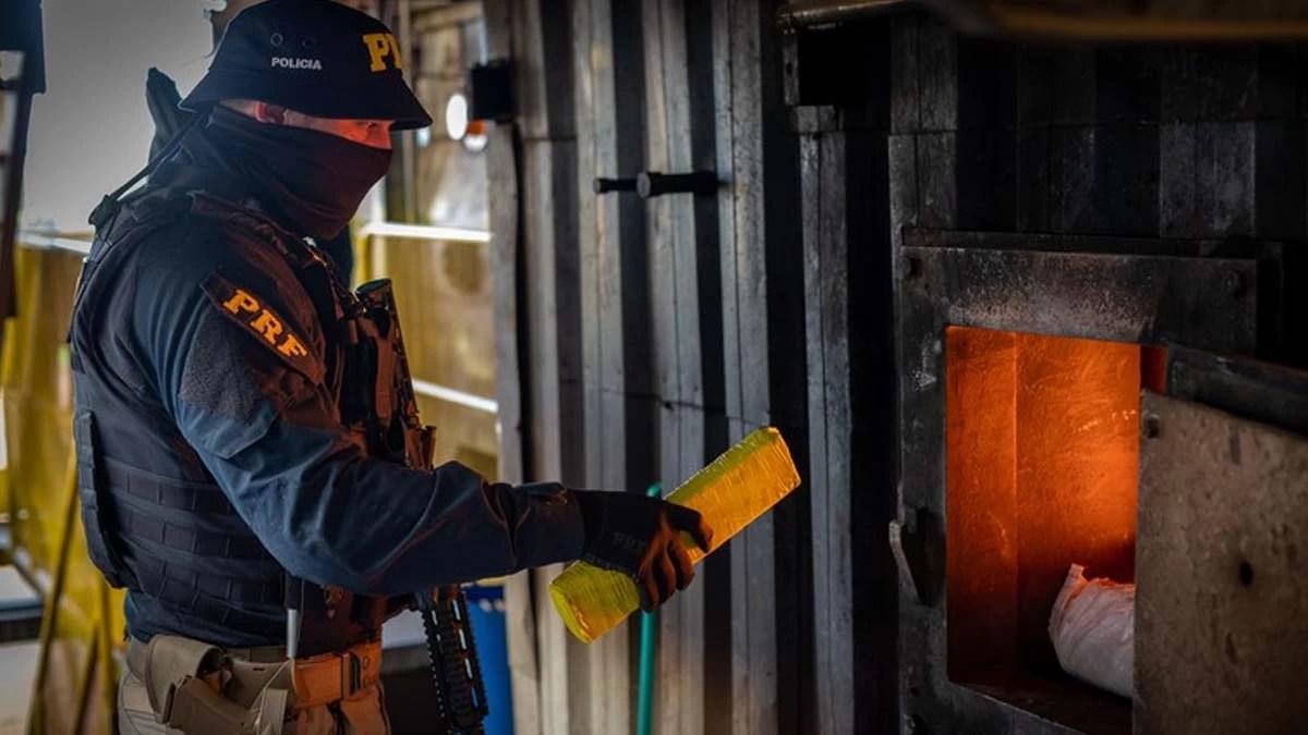 Read more about the article PRF e PF incineram 23,5 toneladas de drogas no Mato Grosso do Sul