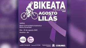 Read more about the article Bikeata Pantaneira acontece neste sábado em comemoração ao Agosto Lilás