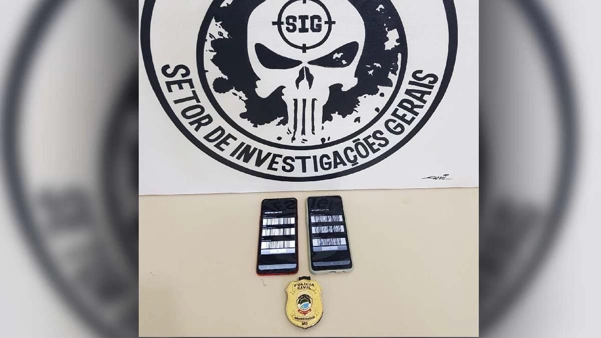 Read more about the article Polícia Civil de Corumbá recupera celulares roubados e duas pessoas são indiciadas por receptação