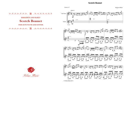 Folias Sheet Music Scotch Bonnet