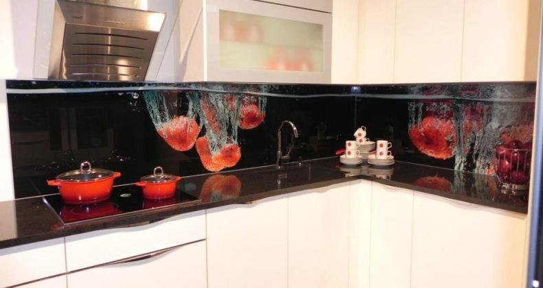 Küchen Gläsrückwände