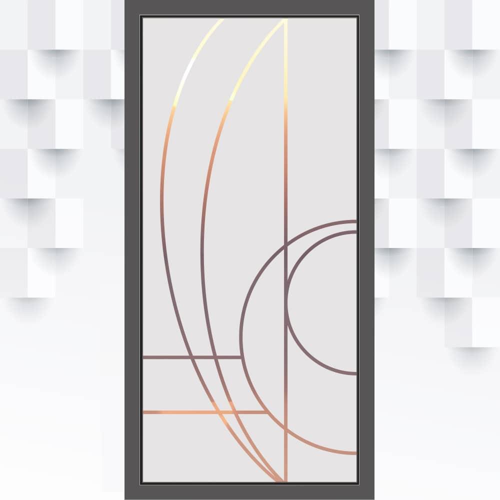 Homein Fensterfolie Selbsthaftend 3d Fenster Dekorfolie