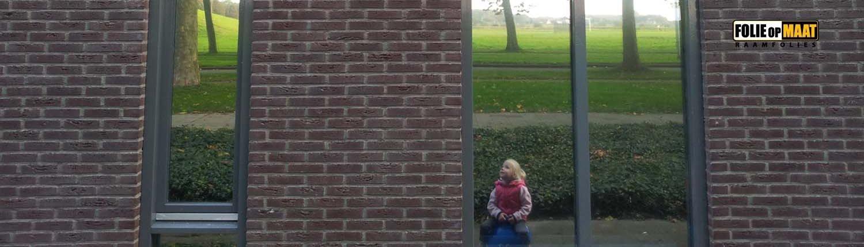Spiegelfolie houd nieuwsgierige blikken