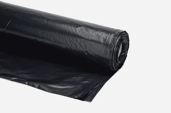 bouwfolie 90 micron zwart