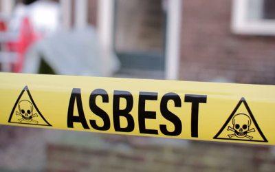 Afvoeren asbesthoudende materialen