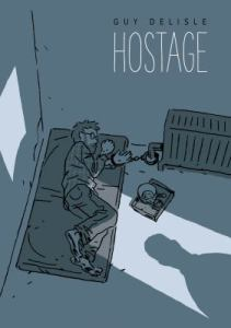 Cover of the graphic novel Hostage.