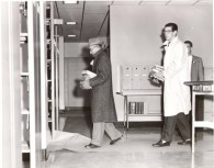iamge of faculty moving books 1961