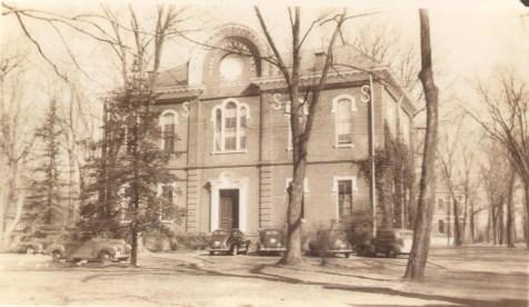 Washington Franklin Hall, 1938