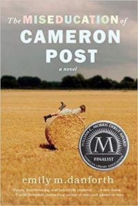 Cover of the novel The Miseducation of Cameron Post.
