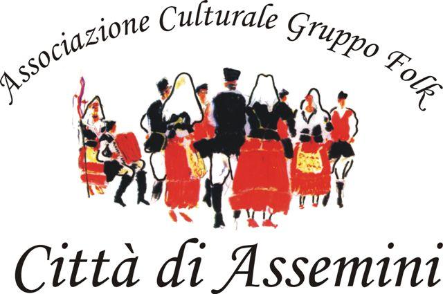 Logo Associazione culturale Gruppo Folk Città di Assemini