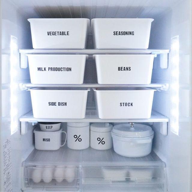冷蔵庫の収納アイデア2