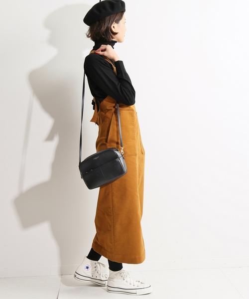 [IENA] IENA LA BOUCLE モールスキンジャンパースカート◆