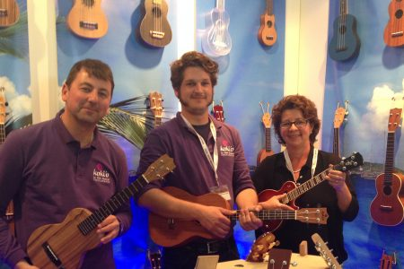 Musikmesse 2015: Ein Messestand voller Ukulelen - Internationale Musikmesse Frankfurt