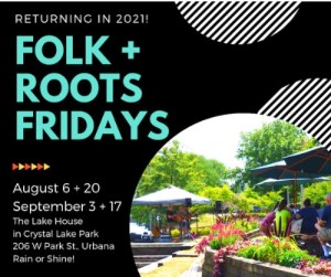 Folk & Roots Fridays Return