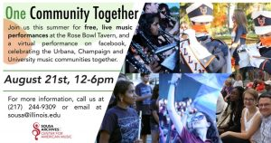 One Community Together @ various