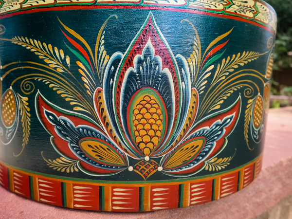 Rosemaling In The Setesdal Style