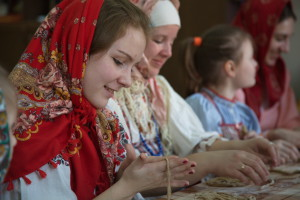 "Алёна Фокина, участница студии ""Терем"""