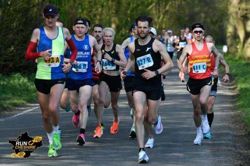 Tom Millard at the Wrexham Elite Marathon