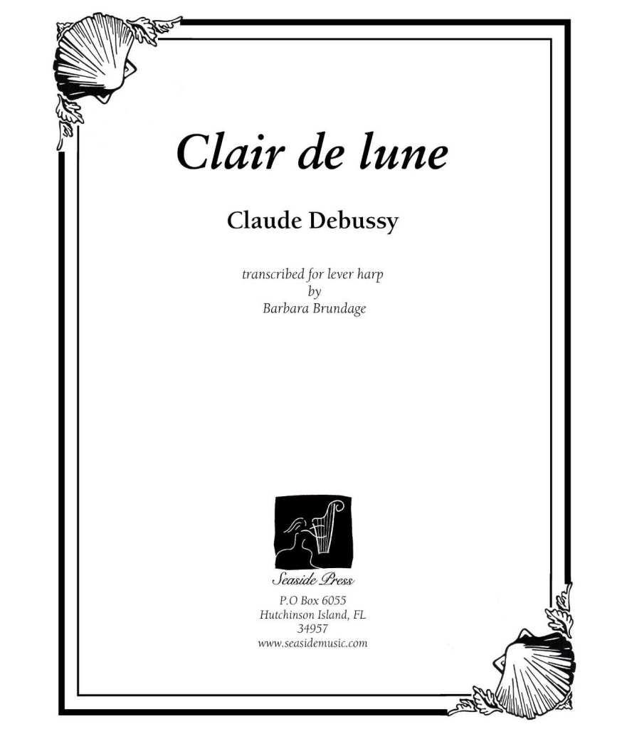 Clair de Lune lever harp brundage