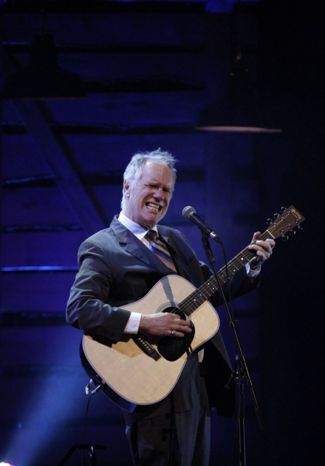 BBC Radio 2 Folk Award 2015 Lifetime Achievement winner LOUDON WAINWRIGHT III performing on the night. Photo courtesy of the BBC.