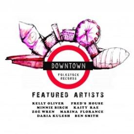VARIOUS ARTISTS Downtown Compilation (Folkstock FSR 22)