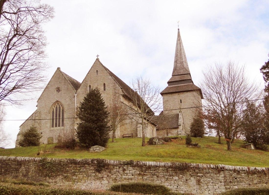 St Marys Church, Kington © 2016 Anne O'Brien