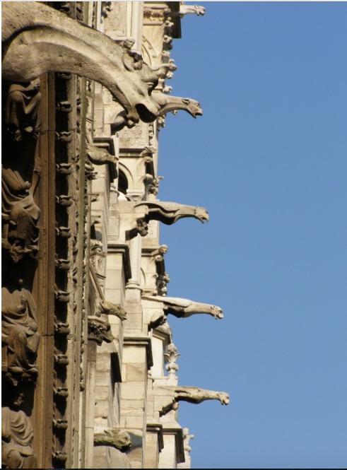 Gargoyles Notre Dame de Paris © Krzysztof Mizera