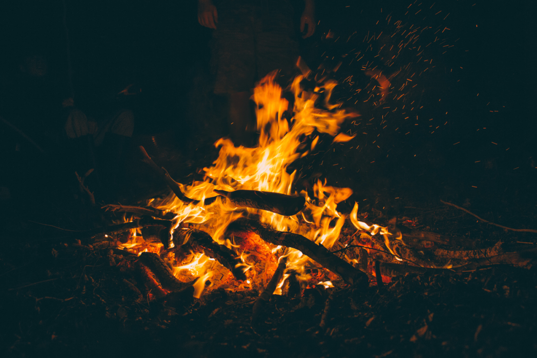 Bonfires often figure at the centre of celebratory rites