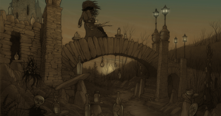 Hopeless, Maine: Salamandra on the Bridge of Bottles © Tom Brown