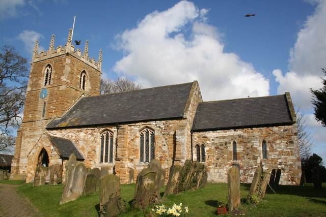 St.Helen's church, North Thoresby, Lincs © By Kreuzschnabel https://commons.wikimedia.org/w/index.php?curid=27389310