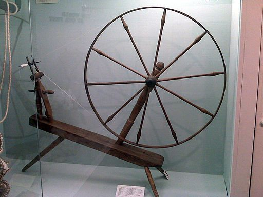 Great wheel, otherwise known as a walking wheel. © Jacob Jose CC BY 3.0, https://commons.wikimedia.org/w/index.php?curid=14939826