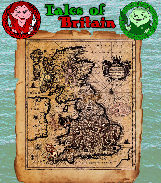 Tales of Britain map