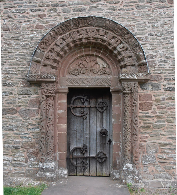 Kilpeck South Door and Tympanum © Anne O'Brien