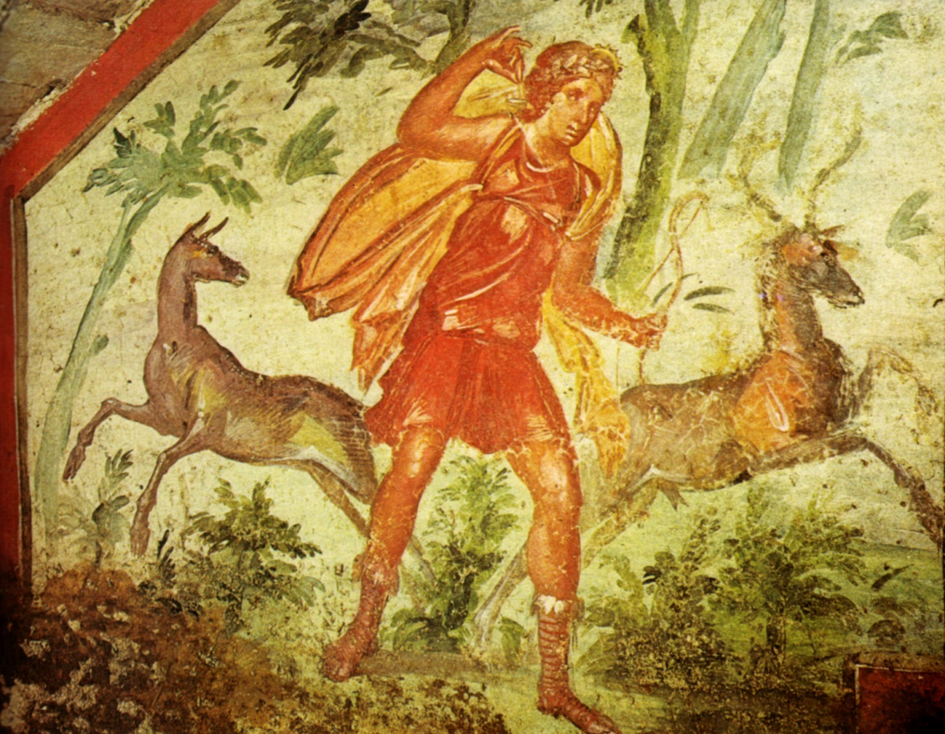 The Goddess Diana Hunting Source https://commons.wikimedia.org/wiki/File%3AIpogeo_di_via_livenza%2C_diana_cacciatrice.jpg