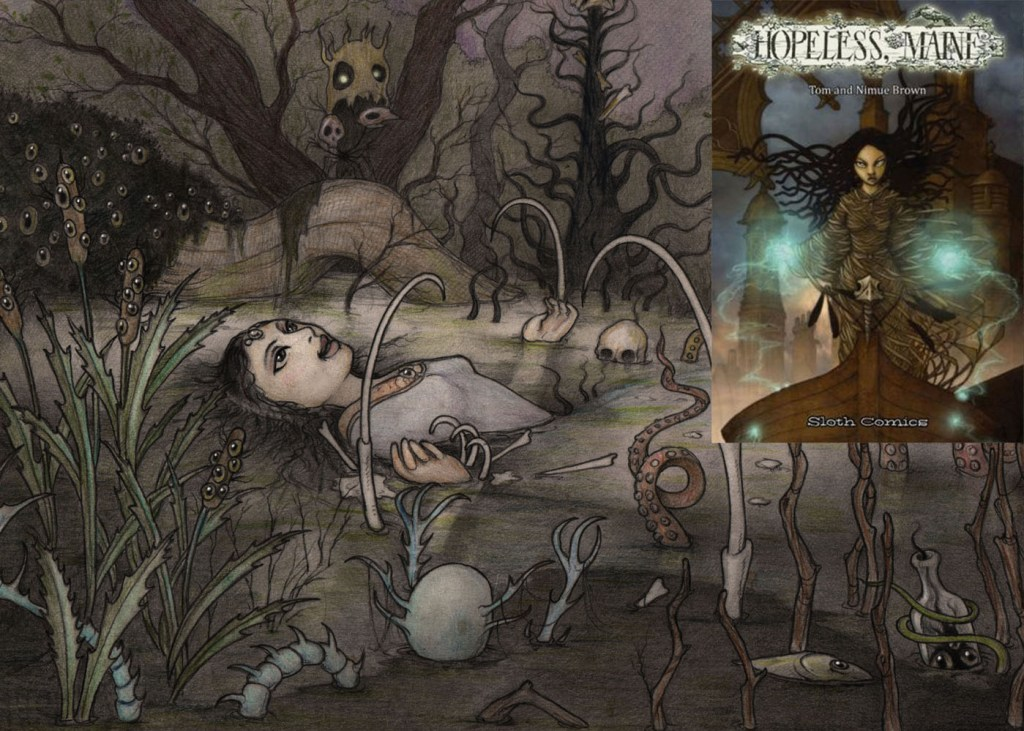The new volume of 'Hopeless, Maine' © Tom and Nimue Brown