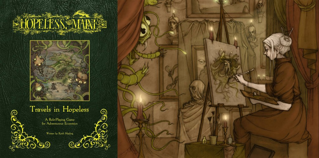 The new Hopeless, Maine RPG by Keith Healing