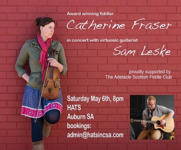 Catherine Frazer / Sam Leske & Adelaide Scottish Fiddle Club