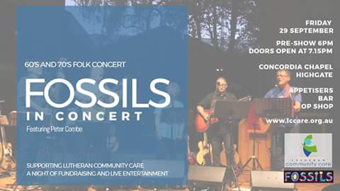 FOSSILS IN CONCERT featuring Peter Combe