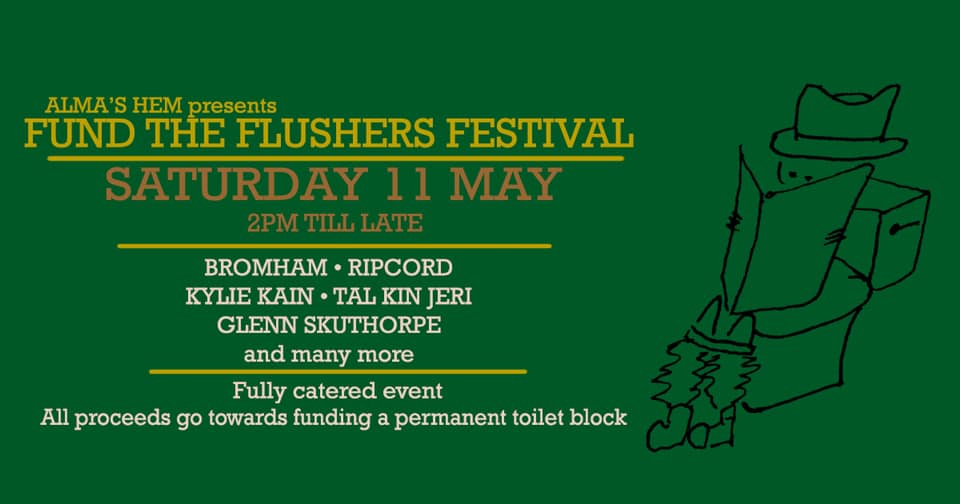 Fund the Flushers Festival!!
