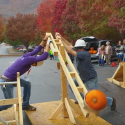 It was a punkin' chunkin' Spookmoot Sunday!