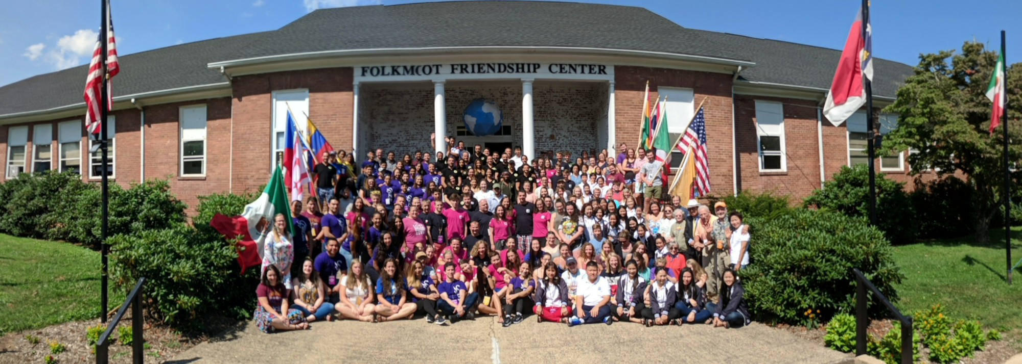 It's a concert hall, a commercial kitchen and cafeteria, a dormitory, an event space - it's the Folkmoot Center.