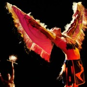 Cherokee is fascinating for visiting Folkmoot performers!