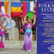 First Saturday of Folkmoot 2018 is jam-packed