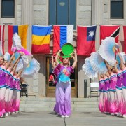 Folkmoot's Parade of Nations: July 21 on Main Street in Waynesville!