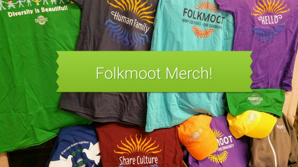 Spread peace and understanding with a Folkmoot T-shirt!
