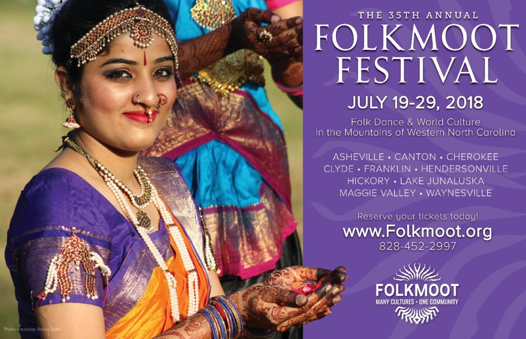 Folkmoot 2018 is one month away!